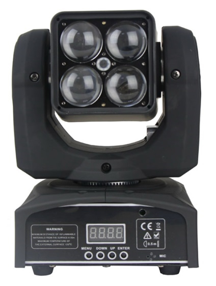 LED Голова New Light M-YL4-10 LED MINI BEAM & WASH & ZOOM MOVING HEAD 4*10W (4 в 1)