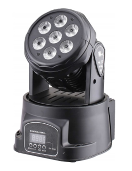 LED Голова New Light M-YL7-8 LED MOVING HEAD 7*8W (4 в 1)