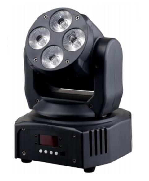LED Голова New Light M-YLW412 LED MOVING HEAD 4x12W (6 в 1)