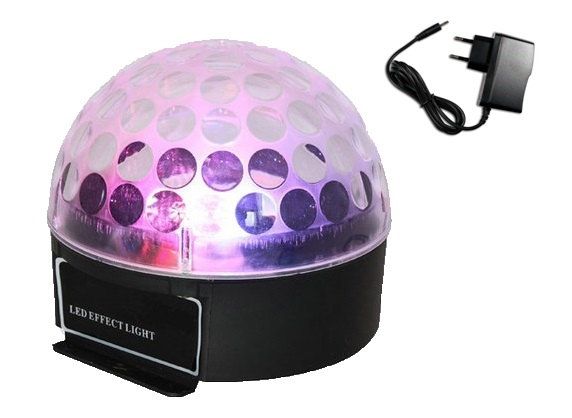 Световой LED прибор New Light BAT-7 LED MAGIC BALL With Battery