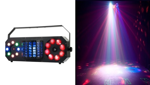 STROBE/CHASE and LASER